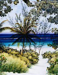 """Hibiscus Hill,"" Bahamas"